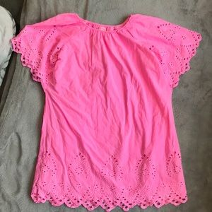 Cat & Jack Sz 14/16 Hot pink dress